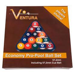 Ventura Poolbälle Economy Pro 57,2mm