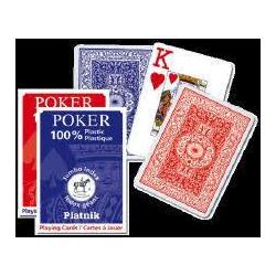 Pokerkarten 100 % Plastik