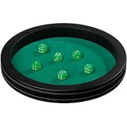 Pokerbrett inkl. Würfel