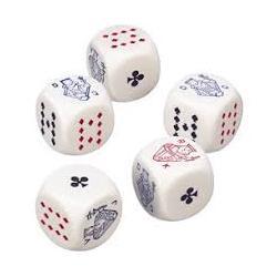 Pokerwürfel 16mm