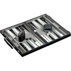 Backgammonkoffer Kunstleder